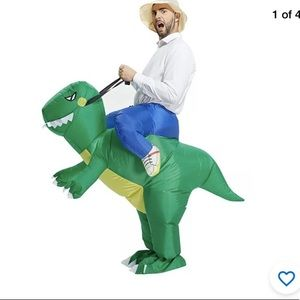 Hollowen Inflatable Dinosour Costume